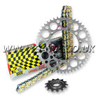 KAWASAKI KX250 1987-1998 REGINA RX3 PRO CHAIN AND RENTHAL SPROCKET KIT SILVER