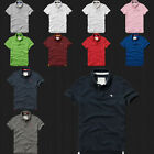 New Abercrombie  Fitch Men Bradley Pond Polo Shirt By Hollister All Size Color
