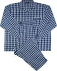 ESPIONAGE LIGHT WEIGHT POLY COTTON CHECK PYJAMA SET (069) IN SIZE 2XL TO 8XL