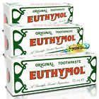 3x Euthymol Original Toothpaste Gum Teeth Cleans Tooth Paste Tube 75ml