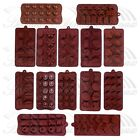 Heart Star Chocolate Cake Ice Soap Cube Jelly Tray Candy Silicone Mold Mould Set