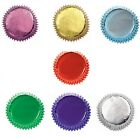 Culpitt Metallic FOIL CUPCAKE CASES Great Quality Greaseproof Muffin/Baking/Cake