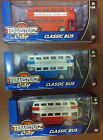 CHILDREN'S TOY DOUBLE DECKER LONDON BUS 3 COLOURS GIFT XMAS *NEW*