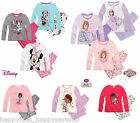 Girls Disney DOC McSTUFFINS Long PYJAMA SET Nightwear Nightie Top & Bottoms