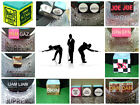 3 Personalised Pool Snooker cue chalk OR holder + chalk & free tip gift  novelty