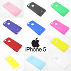 For iPhone 5 5G Moshi iGlaze Back Ultra Thin Case Cover 10 Colours High Quality