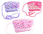 Handbag Coin Purse For Girls With Heart Pattern, Bow and Lace