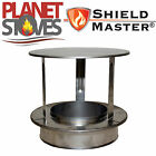Stainless Steel Shieldmaster Rain Cap For Twin Wall Insulated Flue Pipe