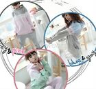 Womens Lovely Stars Prints Long Sleeves Two Piece Leisure Sweatshirt M~XL HUK