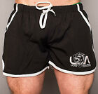 LYCAN MENS GYM BODYBUILDING SHORTS RUNNING BEACH WORKOUT MARATHON TRAINING