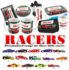 PERSONALISED Racing Car Gifts - Lunchbox iPad case Pencil Case Water Bottle