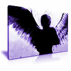BANKSY Dark Angel Graffiti Modern Art Print Framed Canvas Box ~ More size