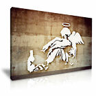 BANKSY Fallen Angel Graffiti Modern Art Print Framed Canvas Box ~ More size