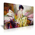 ART GRAPHIC 1 Canvas Framed Printed Wall Art - More Size