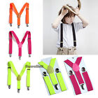 NEW Kids Toddler Highly Stretchable Y-back Suspender Elastic Adjustable Braces
