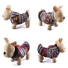 Brand New 2 Color Retro Cute Warm Coat Jacket Clothes for Small Dog Puppy AH3072