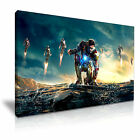 Iron Man Movie Abstract Art Canvas Print Framed Wall Art More Sizes