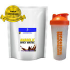 5KG ANABOLIC 80% WHEY MATRIX PROTEIN POWDER+ FREE SHAKER BOTTLE (STRAWBERRY)