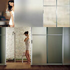 45x200cm 2 meter Frosted Glass Window Sticky Film Privacy Bedroom Bathroom #N0-3
