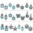 Hot Selling Fashion Women In-Style Turquoise Earrings Set 12 Style To Pick