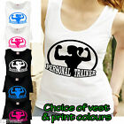 PERSONAL TRAINER LADY FIT ATHLETIC VEST gym fitness exercise aerobic instructor
