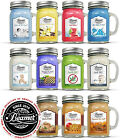 12oz Beamer Candle Co Ultra Premium Soy Candles up to 90 Hour Burn time USA MADE