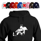 Banksy Fallen Angel Funny Hoodie All Size/Colour
