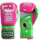 Ringside Boxing Apex Fitness Bag Gloves - Pink / Lime Green
