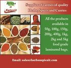 Ground & Whole,Herbs & Spices Premium Offer Price Ending Soon 50g HerbsnSpiceit