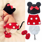New 1PC Cute Mickey Suit Baby Boys Girls Photo Photography Prop Clothes Costume