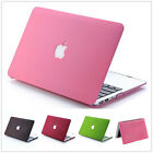 """New PC Matte Hard Laptop Case Shell For Apple MacBook Air 11""""13""""/Pro 13""""15""""inch"""