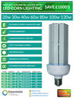 LED Corn Light Range Metal Halide SON Replacement E27 ES E40 GES 6000k Daylight