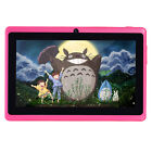 """2 Colors Kids 7"""" HD Android 4.2 Tablet PC A13 1.2GHz 4GB Dual Cam 2 Core WiFi"""