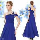 Ever Pretty Blue Long Evening Simple Bridesmaid Formal Ball Gowns Dresses 08118
