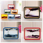 Landscape Scenery Moving Sand Art Glass Picture Photo Frame Home Decor Xmas Gift