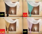 READY MADE SCARF VOILE CURTAINS VARIOUS SIZES AND 13 COLOURS , CHEAP -BARGAINS