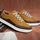 Mens Fashion Casual British party young  running casual PU leather cheap shoes
