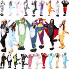 Kigurumi Adult Unisex Fleece Animal Costumes Pajamas Cosplay Sleepwear