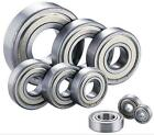 Miniature Rubber Sealed Metal Shielded Metric Radial Ball Bearing 10pcs Model 2