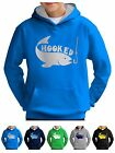Kids Fishing Hoodie Hooks Clothing Tackle Present Rods - Smartphone Compatable