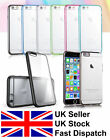 iPhone 6 and iPhone 6 Plus Bumper Case CLEAR Hard Back Silicone TPU Cover