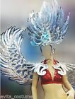 H018 Da NeeNa Dance Latin Wing Burlesque Blue Angel Victoria Secret Wings