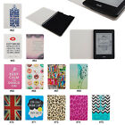 "Cute Hybrid PC PU Leather Flip Folio Case Cover For 6"" Amazon Kindle Paperwhite"