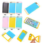 New Style 2 in 1 Hybrid PC Silicone Back Case Cover Skin For 4.7'' iPhone 6