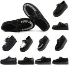 Womens Platform Lace Up Flats Creepers Goth Punk Sport Casual Shoes Size US 4-11