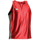 Adidas Boxing Vest Red Sleeveless Cut Round Neck Design Sleeveless Design