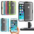 Premium Hybrid Protective Bumper Frost Clear Case Cover for Apple iPhone 6/ Plus