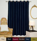 "RETURNED ITEM! Wide Antique Brass Grommet Top Blackout Curtain 80"" by 108"" Panel"