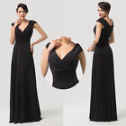 ☆Long Maxi Masquerade Womens Dress Homecoming Evening Party Prom Ball Gown Dress