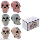 DAY OF THE DEAD SALT AND PEPPER CRUET SET, COLLECTABLE